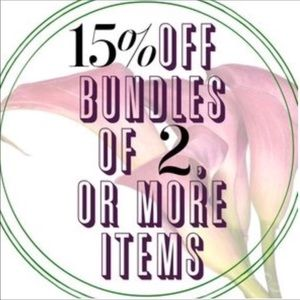 15%OFF 2 & MORE ITEMS